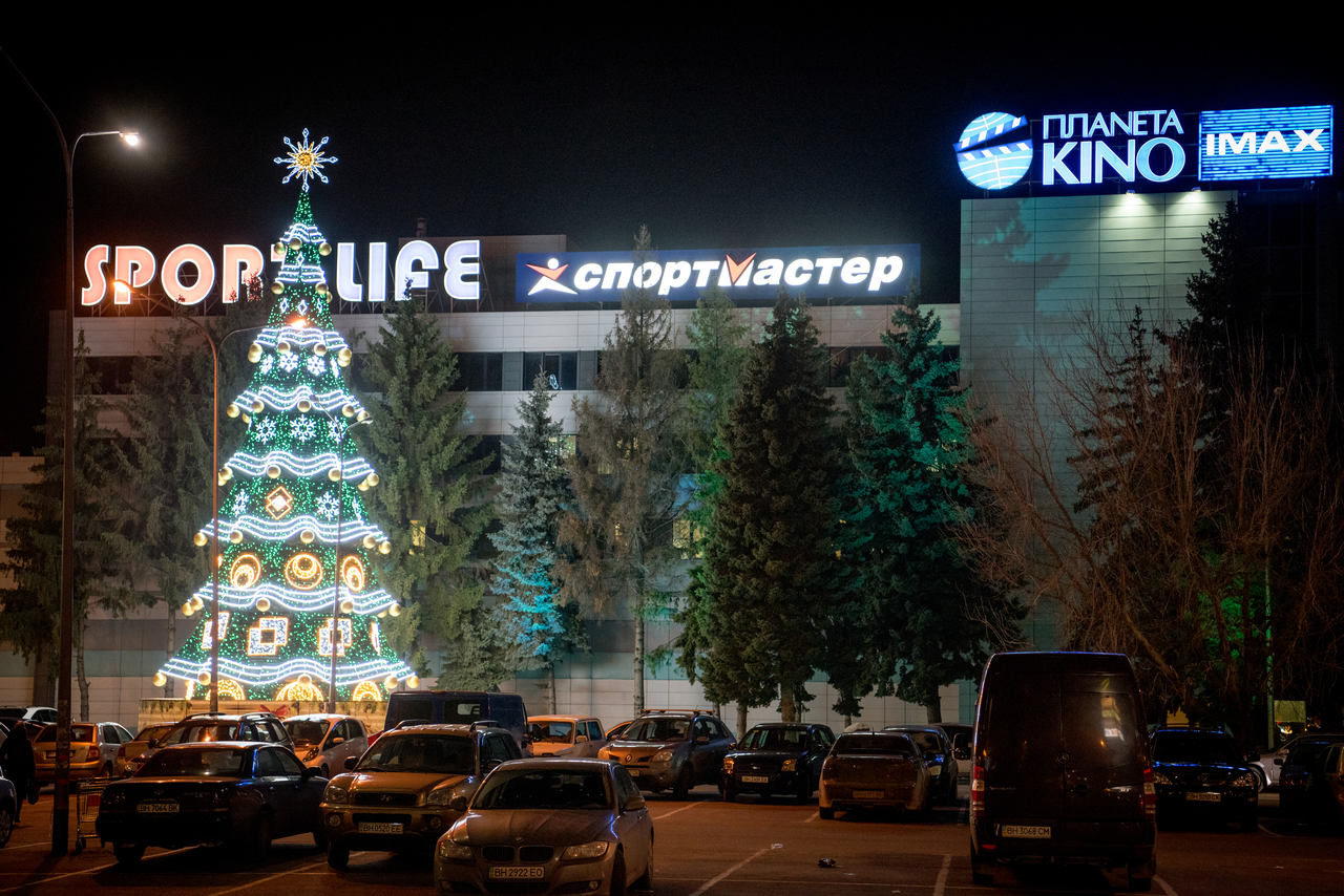 "Odessa. High-altitude spruce near the SEC ""CENTER CENTER"" — Lumiere 